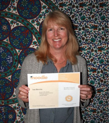 jane with MCCC certificate