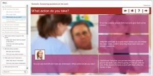 screenshot answering questions